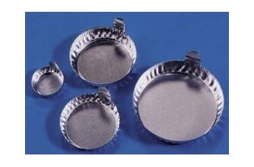 Eagle Thermoplastic Disposable Aluminum Crinkle Dishes with Tabs D70-100