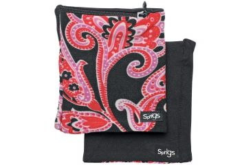 Earbags Banjees Red Paisley/black 550000