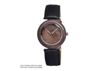 Earth Et1008 Purple Stone Watch, Purple ETHET1008