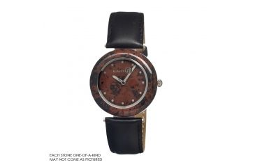 Earth Et1009 Coffee Jasper Watch, Multicolor ETHET1009