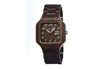 Earth Seso02 Testa Watch, Dark Brown ETHSESO02