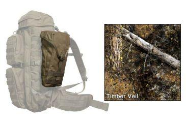 Eberlestock Saddle Bag, Hide-Open Timber Veil A3SBHT