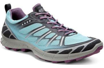 33c7c8907ae940 ECCO Biom Trail FL Hiking Shoe - Women s-Black Aquatic Grape-Medium