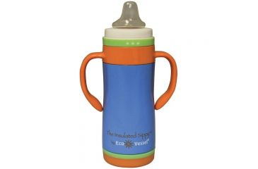 Eco Vessel The Insulated Sippy 10 Oz Blue TIS295HB