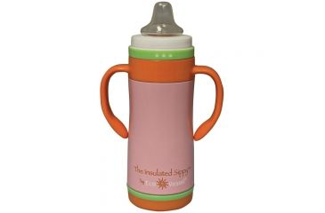 Eco Vessel The Insulated Sippy 10 Oz Pink TIS295AP