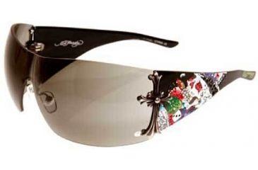 2bf56ab4bff Ed Hardy Brad Original Crystal Sunglasses EHS-008