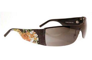 Ed Hardy Tiger Running Crystal Sunglasses EHS-009