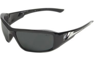 Edge Eyewear Brazeau Safety Glasses Black Frame G15 Silver Mirror Lens Polarized Txb21 G15 7
