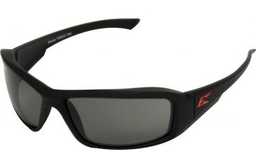 Edge Eyewear Brazeau Safety Glasses Torque Frame Smoke Lens Xb136