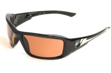 "Brazeau Safety Glasses - Black Frame, Copper ""Driving"" Lens XB115"