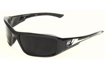 Brazeau Safety Glasses - Black Frame, Smoke Lens XB116