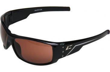 Edge Eyewear Caraz Safety Glasses Black Frame Copper Driving Lens Hz115