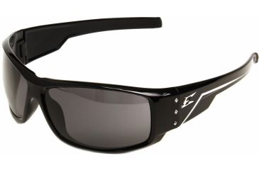Edge Eyewear Caraz Safety Glasses Black Frame Smoke Lens Hz116