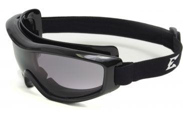 Edge Eyewear Golan Low Profile Vented Safety Goggle w/ Smoke Lens HG116
