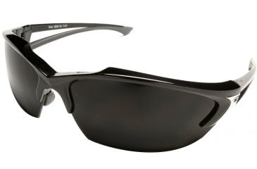 Edge Eyewear Khor Safety Glasses Black Frame Smoke Lens Sdk116