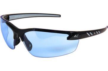 9bae7c778e8e Edge Eyewear Zorge G2 Safety Glasses Black Frame   Light Blue Lenses