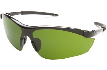 Edge Eyewear Zorge Safety Glasses Black Frame Light Welding Ir 3 0 Lens Dz11 Ir3