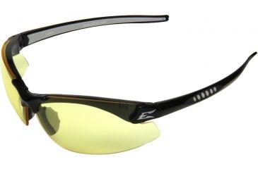 Edge Eyewear Zorge Safety Glasses Black Frame Yellow Lens Dz112
