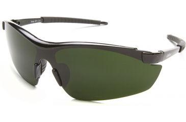 Zorge Safety Glasses - Black Frame, Medium Welding IR 5.0 Lens DZ11-IR5