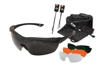 2588933342 Edge Tactical Overlord Safety Glasses 4 Lens Kit