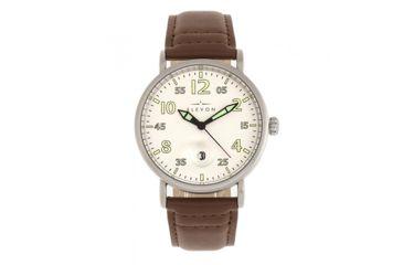 5113fe502 Elevon Elevon Von Braun Leather-Band Watch w/ Date   Up to 60% Off w ...