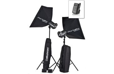 Elinchrom Style 250/250 Multi-Voltage BXRi To Go Kit with stands EL-20753KIT
