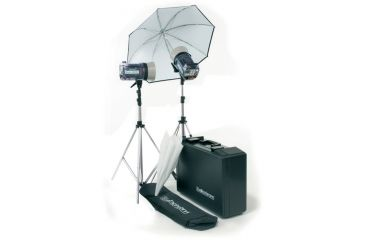 Elinchrom Style 1200rx/1200rx Kit With Umbr., Rflctr., Stands And Case EL 20745