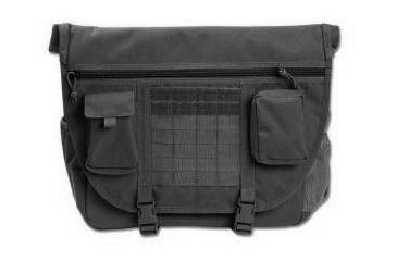 Elite Survival Systems Tactical Messenger Bag, Black ETMB-B