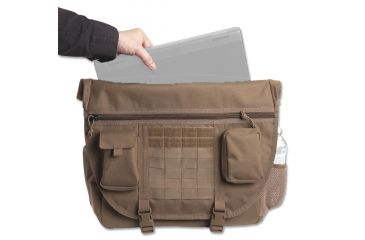 Elite Survival Systems Elite Tactical Messenger Bag - In Use ETMB-T