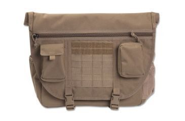 Elite Survival Systems Elite Tactical Messenger Bag, Coyote Tan ETMB-T
