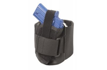 Elite Survival Systems Ankle Holster, Ambidextrous, Black - 3.5-4in BBL Compact Pistols AAHS-3