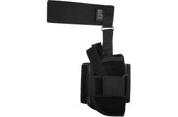 Elite Survival Systems Ankle Holster w/Calf Strap, Ambidextrous - 3.5-4in BBL Compact Pistols