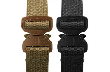 Elite Survival Systems CO Shooters Belt with Cobra Buckle, Tan, Small, Coyote Tan, Small CSB-T-SM
