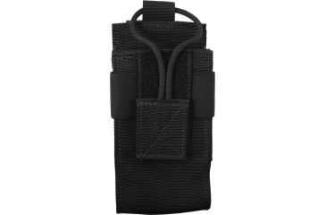 Elite Survival Systems MOLLE Radio Pouch, Black ME140-B