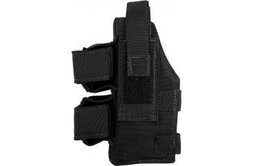 Elite Survival Systems MOLLE Taser Holster, Black,  Left ME501BLH