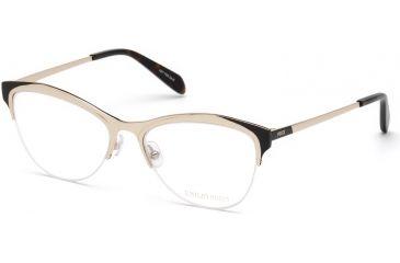 b80db67ebf Emilio Pucci EP5073 Eyeglass Frames - Shiny Rose Gold Frame Color