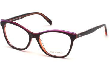 a0f7685933ba Emilio Pucci EP5098 Eyeglass Frames - Bordeaux Frame Color
