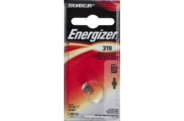 Energizer 1.5 Volt Silver Oxide Zero Mercury Button Cell Battery 319BPZ