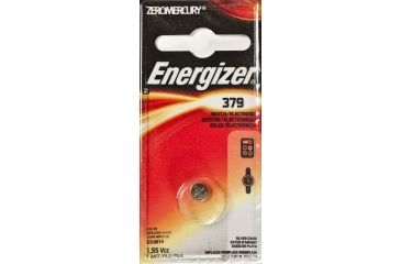 Energizer 1.5 Volt Silver Oxide Zero Mercury Button Cell Battery 379BPZ