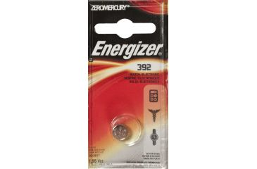 Energizer 1.5 Volt Silver Oxide Zero Mercury Button Cell Battery 392BPZ
