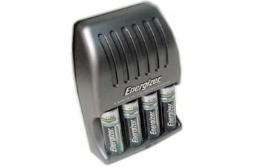 Energizer 15 min AA / AAA Charger with 4 AA Rechargeable NIMH Batteries CH15MNCP-4