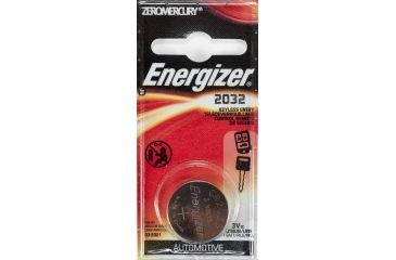 Energizer 3 Volt Button CR2032 Keyless Remote Entry Cell Battery 2032KEBP