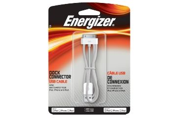 Energizer Apple Dock Connector USB Cable