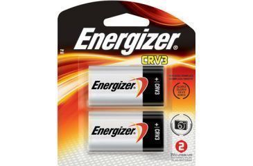 Energizer Photo Lithium CRV3 Battery, 2 Pack ELCRV3BP2