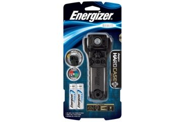 Energizer Bravo Hard Case Tactical Flashlight, Black LE2G21L