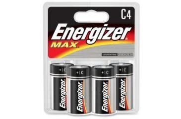 Energizer Max Alkaline C Batteries 1.5 Volt   4.5 Star ...