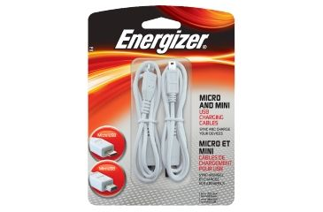 Energizer Micro/Mini USB Charging Cables