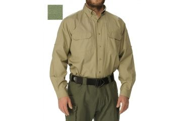 EOTAC 407 Operator Grade Long-Sleeve Shirt Color Sage Size 2XL 407-SAG-2XL