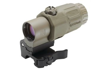 Eotech G33 Magnifier with Switch to Side Mount, Tan