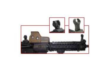 Eotech Hws Folding Battle Flip Up Iron Sight 9 Troy Back Fbsra4 Main